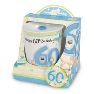Fizzy Moon Mug & Fridge Magnet   Happy 60th Birthday
