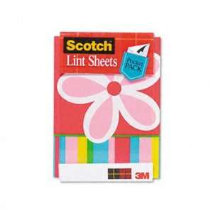 Scotch® Lint Sheets, Portable Pocket Pack SHEET,LINT