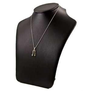 Lonis Triple Heart Key Charm Necklace Emitations