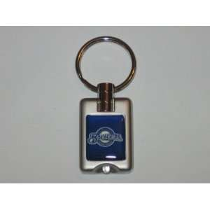 MILWAUKEE BREWERS Team Logo FLASHLIGHT KEY CHAIN: Sports