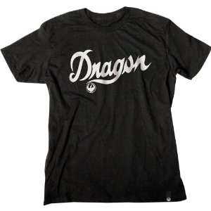 com Dragon Alliance Slim Fit Script Mens Short Sleeve Fashion Shirt