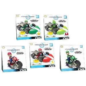 Nintendo Super Mario 5 Pcs. Exclusive Knex Mario Kart