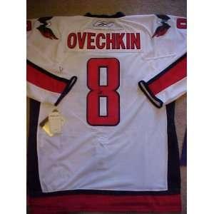 Alexander Ovechkin Hand Signed Autographed Authentic Reebok Washington
