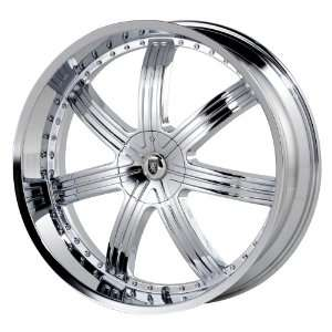 Von Max VM10 26x9.5 Chrome Wheel / Rim 6x135 & 6x5.5 with a 30mm