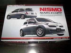 Fujimi 1/24 Nissan March S tune Nismo Model Kit #18889