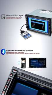 D5101U Eonon 7 HD LCD Touchscreen Steer Wheel Car GPS DVD Player for