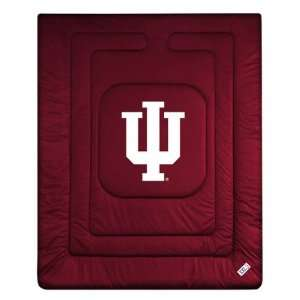 Indiana Hoosiers Locker Room Comforter   Full/Queen Bed