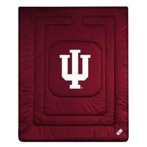 Indiana Hoosiers Locker Room Comforter   Full/Queen Bed