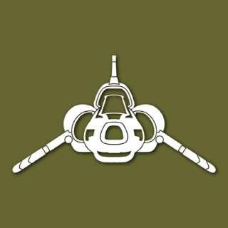 Viper Mk 2 Battlestar Galactica Vinyl Sticker VSVM2F