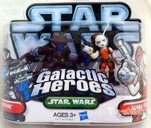 Star Wars Galactic Heroes CAD BANE & AURRA SING 94735