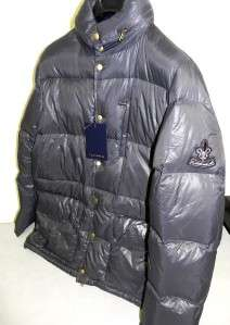 995 NWT CLASS Roberto Cavalli Mens Qulted Down GREY Jacket Coat
