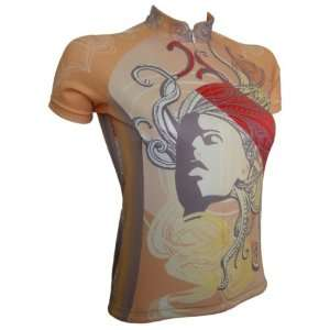 Ladies Bike Cycling Jersey Short Sleeve Bicycle Excercise