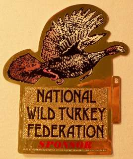 National Wild Turkey Sponsor Sticker