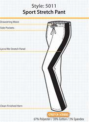 NEW NU DIMENSION LUXURY TOUCH STRETCH SCRUB PANTS VARIOUS STYLES