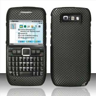 Carbon Fiber Image Hard Case Cover for Straight Talk Nokia E71