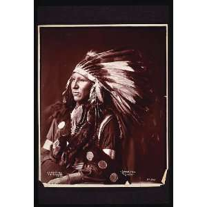 Shout At,Oglala,Sioux,Breastplate,War Bonnet,Headdress: