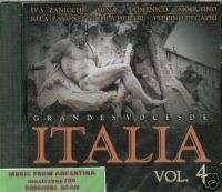 ITALIA VOL 4 IVA ZANICCHI MINA NICOLA DI BARI SEALED CD