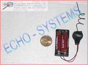 KT13 RADIO SPY RF TRANSMITTER BUG listening device CRYSTAL CONTROLLED