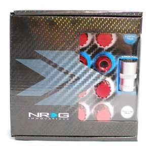 NRG 500 Series (Red) 12 x 1.5 RH 16pcs Racing Light Weight