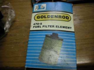 DL COMPANY GOLDENROD FUEL FILTER REPLACEMENT 470 5