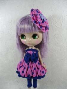 Neo Blythe Outfit Clothing Handmade Cloth Basaak Dress #044