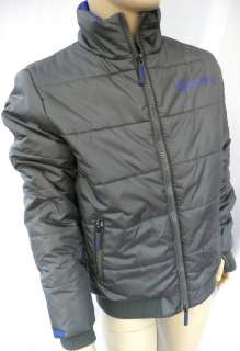 Sport Puffa Warm Jacket Gunmetal Grey/Blue RP £65 Sizes M,L,XL