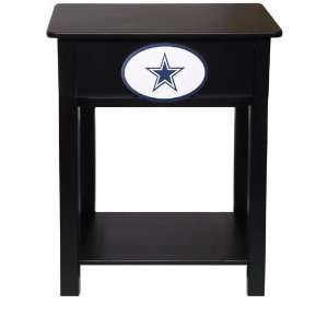 Fan Creations Dallas Cowboys Logo Night Stand/Side Table