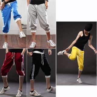 Mens Sports Gym Jogger Lounge Leisure Shorts Sweat Pant