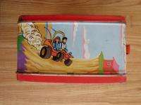 Vtg 1973 Thermos Speed Buggy Metal Lunchbox Hanna Barbera