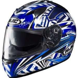 HJC IS 16 Specter Full Face Motorcycle Helmet MC 2 Blue Extra Large XL