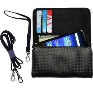 Black Purse Hand Bag Case for the Sony Ericsson Hallon