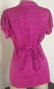 New Heart Soul Womens Plus Size Clothing Purple Shirt Top Ruffle