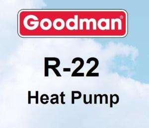 ton Goodman R22 GSH13 Heat Pump Condenser GSH130421