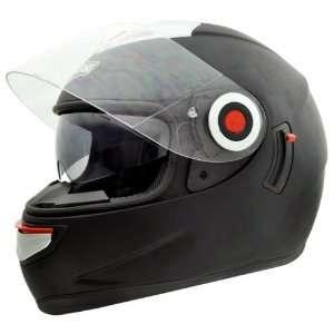 Headcase HC 888S Flat Black Full Face Motorcycle Helmet Sz