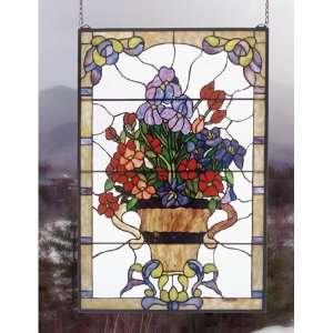 24 Inch W 36 Inch H Floral Arrangement Windows