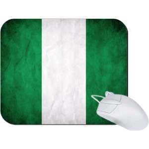 Rikki Knight Nigeria Flag Mouse Pad Mousepad   Ideal Gift