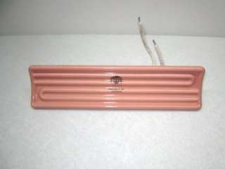 CRB10077 E Mitter Ceramic Infrared Heater 1000 Watts 230 Volts New