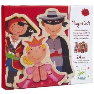 Djeco Fancy Children Magnetics (24 pc) Toys & Games