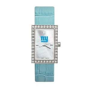 New York Giants Ladies NFL Starlette Watch (Leather Band) Sports
