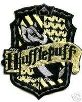BRITISH PATCH HARRY POTTER HOUSE OF HUFFLEPUFF CREST