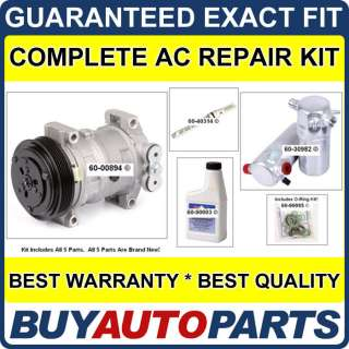 CHEVY S10 BLAZER AC REPAIR KIT NEW COMPRESSOR 1996 1998