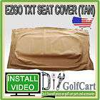 EZGO TXT Or Medalist Golf Cart Seat Bottom Cover   OEM Replacement