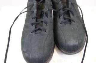 WOMENS MBT CASUAL W BLACK NUBUCK LEATHER LACE SHOE EU41 UK7 US10
