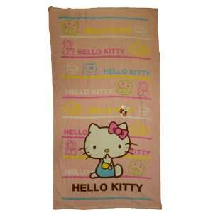 Hello Kitty Beach Towel   Sanrio Hello Kitty Towel Toys