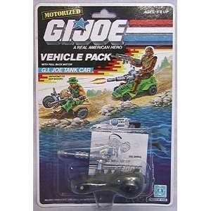 Hasbro 1988 G.I. JOE TANK CAR Motorized Vehicle Pack