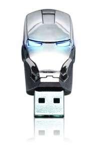 8GB USB Iron Man 2 Marvel Flash Drive Superhero Helmet