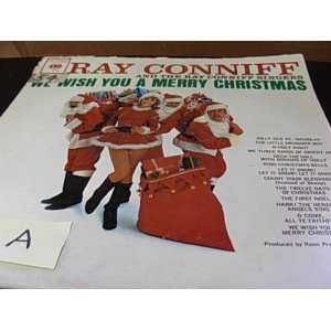 Ray Conniff WE WISH YOU A MERRY CHRISTMAS Music