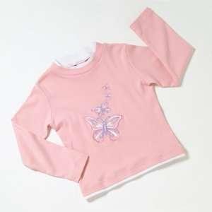 My Twinn Girls Pink Butterflies Top Toys & Games