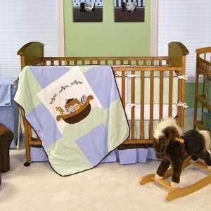 Trend Lab Noah Ark 4 Piece Baby Crib Bedding Set   TRL351