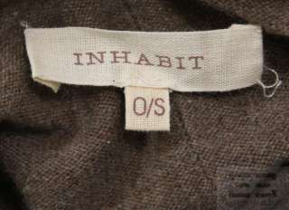 Inhabit Brown Cashmere Poncho Style Sweater Size O/S